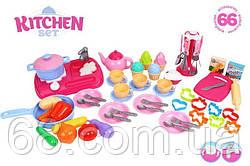 Игрушка  Кухня с набором посуды  7280 (4)  ТЕХНОК  66 предметов