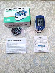 Портативный пульсометр оксиметр на палец Pulse Oximeter LK87 edc пульсоксиметр для измерения кислорода в крови