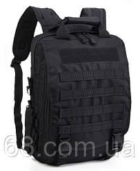 Рюкзак тактичний Eagle M10B Black
