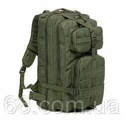 Тактичний штурмової військовий рюкзак 35л портфель темно-зелений