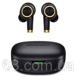 Бездротові Bluetooth-навушники Bluedio Particle з зарядним кейсом на 650 mAh