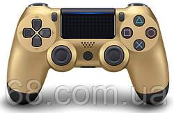 Дротовий джойстик DoubleShock 4 PS 4 Gold (25156)