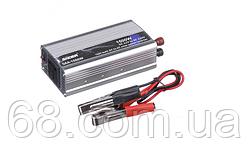 Инвертор, перетворювач напруги з 12 в на 220 вольт UKC SAA-1500W Silver + USB (1882)