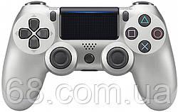 Дротовий джойстик DoubleShock 4 PS 4 Silver (25156)