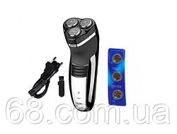 Електробритва Бритва Geemy GM-7300 Black (4638)