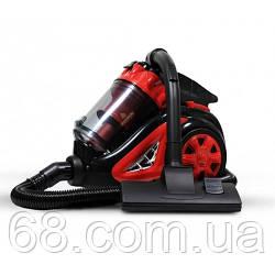 Пылесос контейнерный колбовый вакуумный Crownberg CB 657 3800Вт