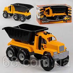 Машина Самосвал 06-616 Pilsan (2) подъемный кузов, звук работы спецтехники, в коробке