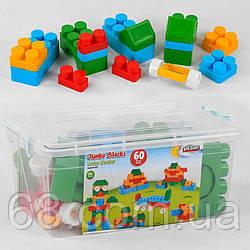 Конструктор 03-227  Pilsan  (6) 60 деталей, в чемодане