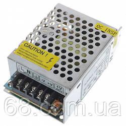 Блок живлення UKC 12V 3A 1203A металевий (3392)