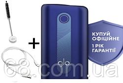1 ГОД ГАРАНТИИ + Подарок к glo hyper Синий (Гло хайпер Blue) Прибор для нагрева табака p