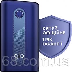 Glo hyper Синій Гарантія РІК Максимальна комплектація (Гло хайпер Blue) Пристрій для нагріву тютюну