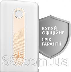 Glo hyper Білий Гарантія РІК Максимальна комплектація (Гло хайпер White) Пристрій для нагріву тютюну