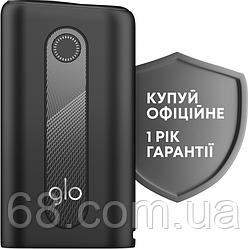 Glo hyper Чорний Гарантія РІК Максимальна комплектація (Гло хайпер Black) Пристрій для нагріву тютюну