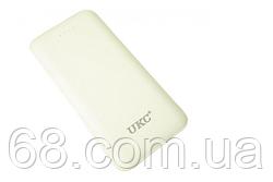 Зовнішній акумулятор UKC LP303 10000 mAh + перехідники White (6929)