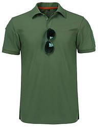 Тактична футболка поло Outsideca з коротким рукавом (Олива) L