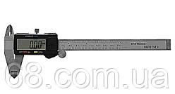 Электронный штангенциркуль Generic с LCD экраном, микрометр в кейсе + батарейки (1343)