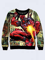Cвитшот DEADPOOL; XXS, XS, S, M, L, XL