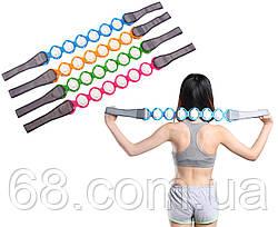 Роликовий масажер для всього тіла Massage Rope (різні кольори) (14709)