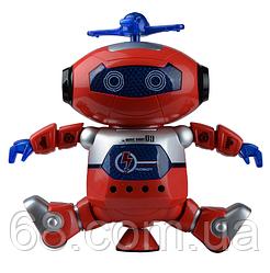 Музичний танцюючий світиться робот Dancing Robot (99444-3) Red