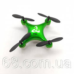 Квадракоптер дрон Мини Mini Drone HC 616 Зеленый p