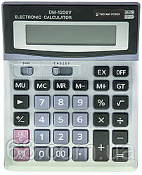 Настільний калькулятор DM 1200V (0424)