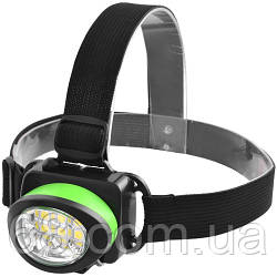 Налобний ліхтарик 539-6SMD, 3xAAA