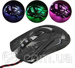Ігрова комп'ютерна миша з підсвічуванням Zornwee Z42 Black (90162)