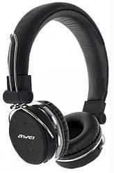 Bluetooth стерео наушники накладные AWEI A700BL Black (5017)