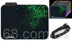 Ігрова поверхня (килимок для миші Razer Goliathus R-350 з подветкой RGB (350х250х3мм) (90546)