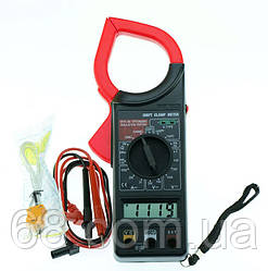 Струмові кліщі (мультиметр, тестер) Digital Tech DT-266FT (1011)