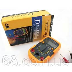 Мультиметр цифровий тестер HLV UK-830LN