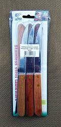 Набор кухонных ножей  PengFeng  с зубчиками из 6шт, 20см