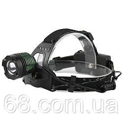 Налобний ліхтарик BL POLICE 2188 T6 (2 зарядні, 2 акумулятора)