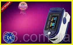ПульсОксиметр датчик кислорода в крови пульса медицинский на палец pulse oximeter пульсометр WLX P 01 wsx p