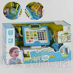 Кассовый аппарат 35578 A (6) свет, звук, встроенный калькулятор, микрофон,  в коробке