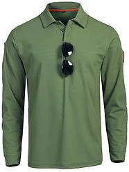 Тактична футболка поло Outsideca з довгим рукавом (Олива) L