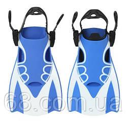 Спортивні короткі ласти для швидкого плавання AquaSpeed L