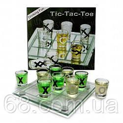 Алкогольна гра хрестики - нулики №088м (22х22 см)