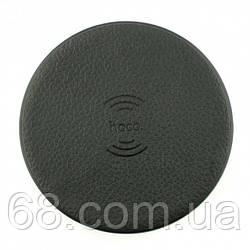 Бездротова зарядка Hoco CW14 round 2A Wireless Charger Чорна