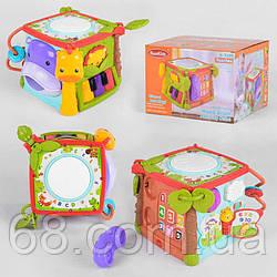 Музичний Куб КК 2705 (18) світло, звук, англійська озвучка, в коробці