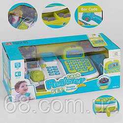 Касовий апарат 35536 А (12/2) світло, звук, вбудований калькулятор, мікрофон, в коробці