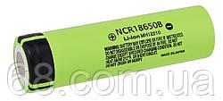 Акумулятор Panasonic 18650 Li-ion 4.2 v NCR18650B MH12210 3400mah без захисту (AL2751) оригінал