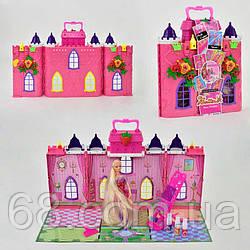 Домик с куклой 68034 (18) кукла 30см, аксессуары для окрашивания волос, картонная рамка