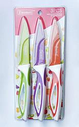 Набор кухонных металлокерамических ножей 3шт Н-305