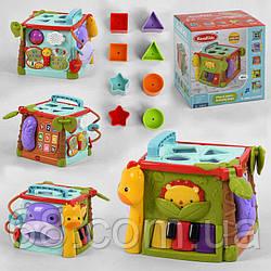 Музичний Куб КК 2697 (12) світло, звук, англійська озвучка, в коробці