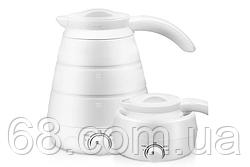 Дорожный силиконовый электрический складной чайник Elecreic Kettle(W-013) p
