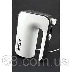 Ручний кухонний міксер Domotec A-PLUS 1554 5 швидкостей насадки 400Вт Білий