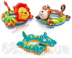 Коло надувне для плавання 58221 Тваринки