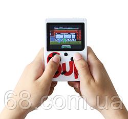 Ретро ігрова приставка (Ігрова консоль) Game Box sup 400 ігор в 1 + джойстик White