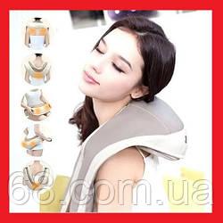 Cervical Massage Shawls Ударний вібромасажер для спини, плечей і шиї, Вібраційно-ударний масажер